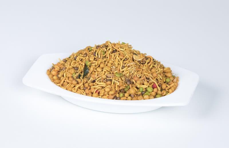 Mix Namkeen. Indian Salty food mix namkeen royalty free stock image