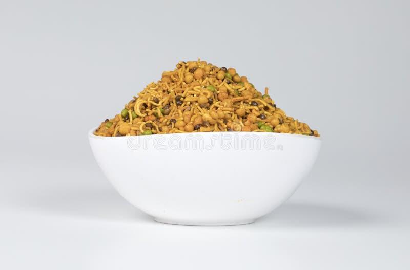 Mix Namkeen. Indian Salty food mix namkeen royalty free stock photography