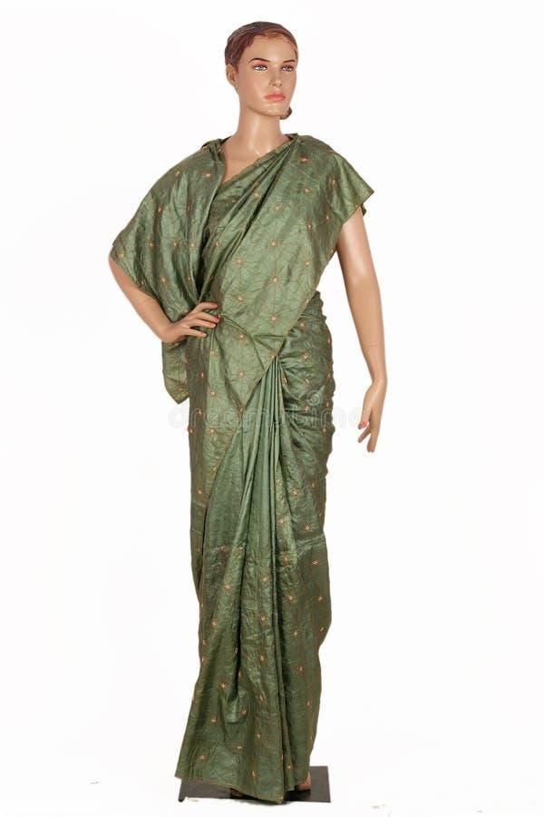 INDIAN SAREES stock photos