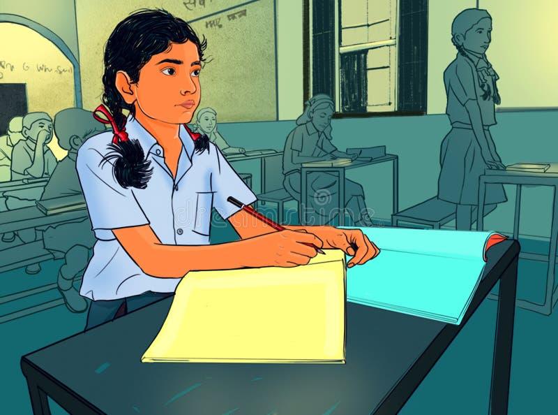 Indian School Girl Stock Illustrations – 666 Indian School Girl Stock Illustrations, Vectors & Clipart - Dreamstime