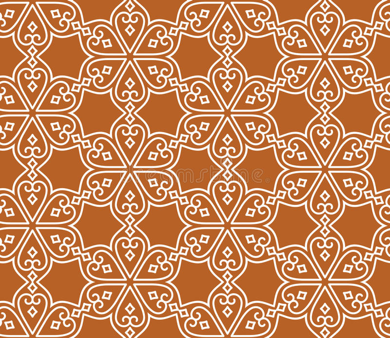Indian seamless abstract pattern vector illustration