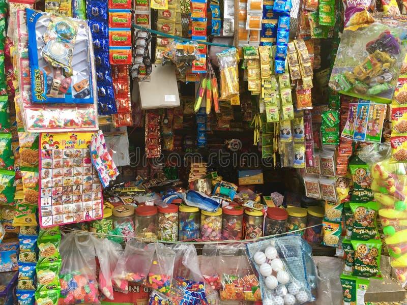 Indian Shop stock image