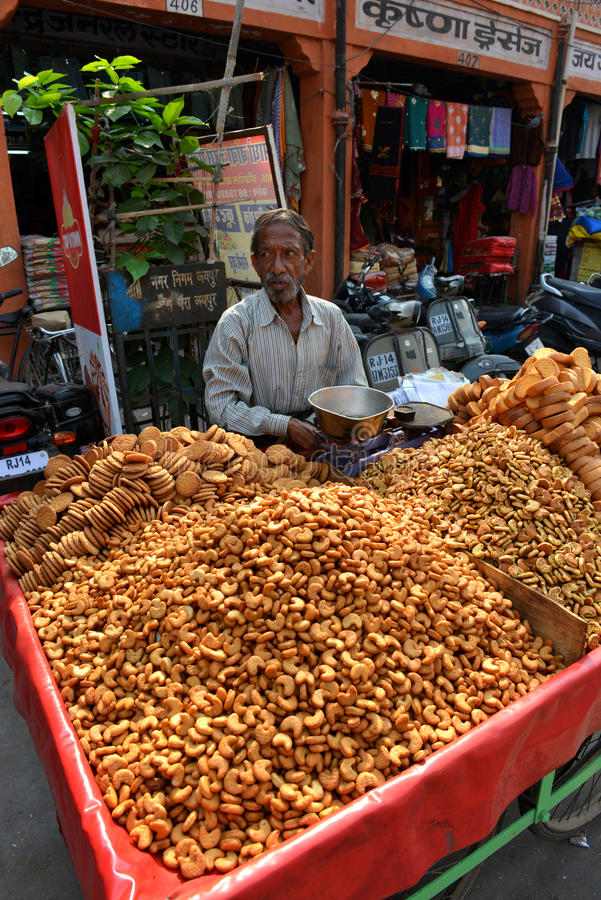 Download Indian Snack On Street, Jaipur Editorial Stock Photo - Image: 28132658