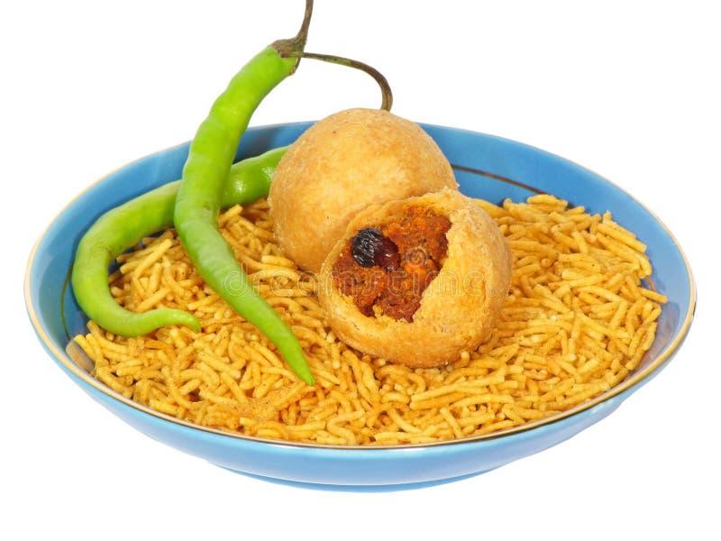 Indian Snacks Stock Photos