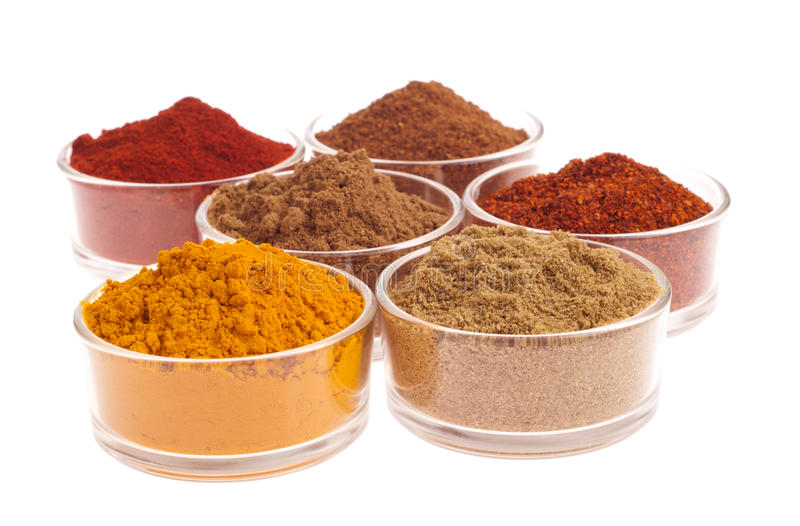 Download Indian spices stock photo. Image of heap, isolated, masala - 19862560