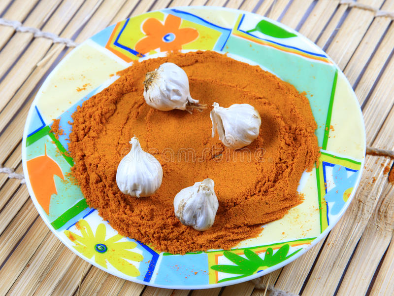 Download Indian spices stock image. Image of plate, pods, china - 20552169