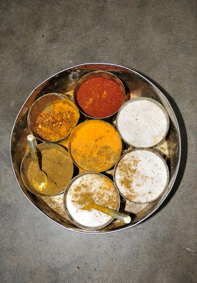 Download Indian spices box stock image. Image of masala, kumin - 11580059