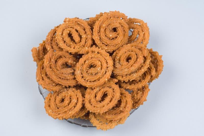 Diwali SNACKS CHAKLI stock image