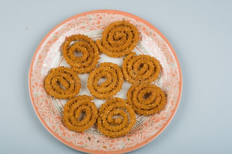 Diwali SNACKS CHAKLI stock photography