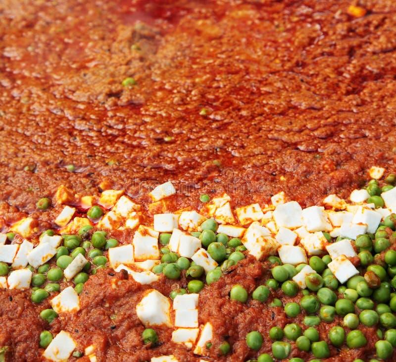 Indian street Food: Pap Bhaji stock photography