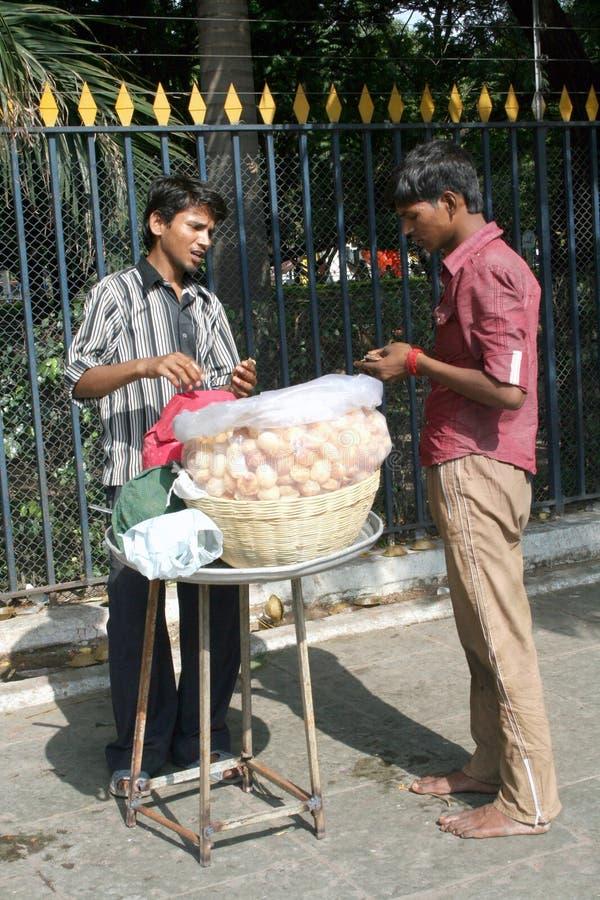 Download Indian street food vendor editorial image. Image of fast - 21770920
