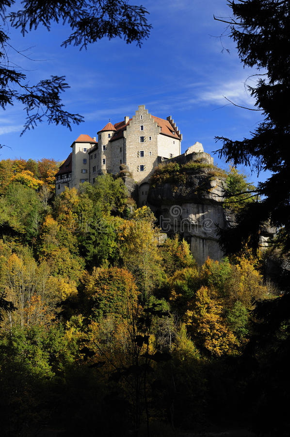 Indian Summer at the Castle stock photos