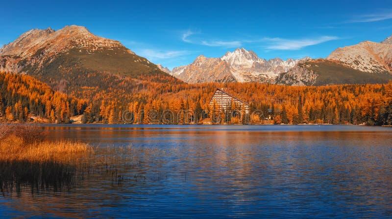 Lake Strbske Pleso - High Tatras - Slovak Republic royalty free stock photography