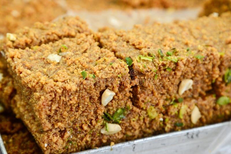 Indian Sweet - Kalakand stock images