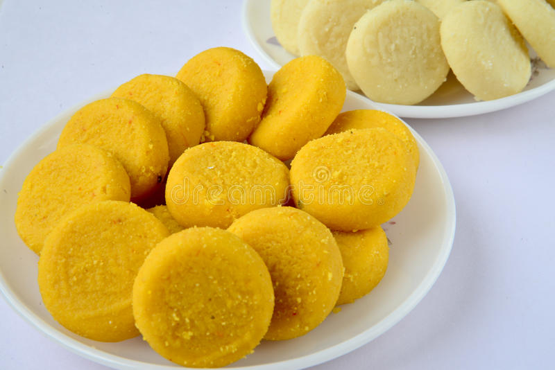 Indian Sweet - Peda royalty free stock photo
