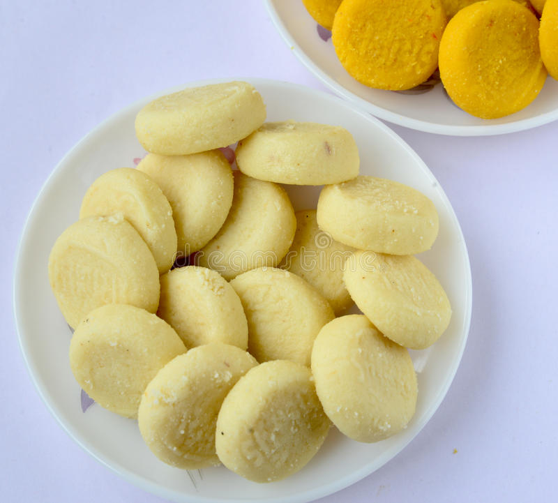 Indian Sweet - Peda stock photos