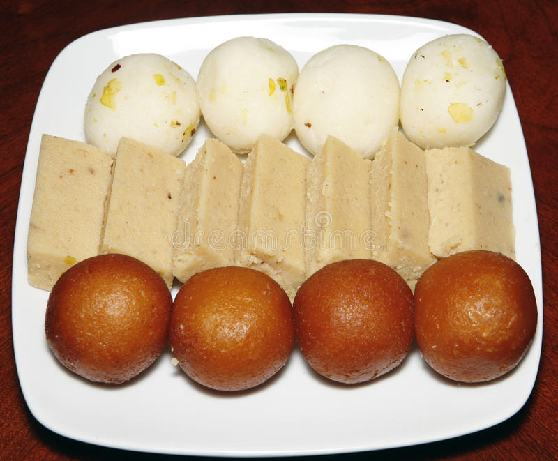 Indian sweets royalty free stock images