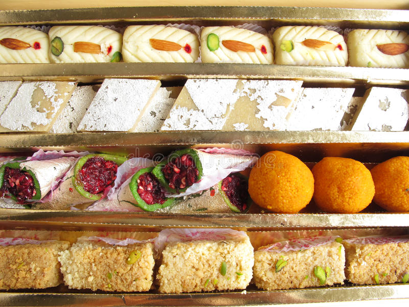 Indian Sweets royalty free stock photos