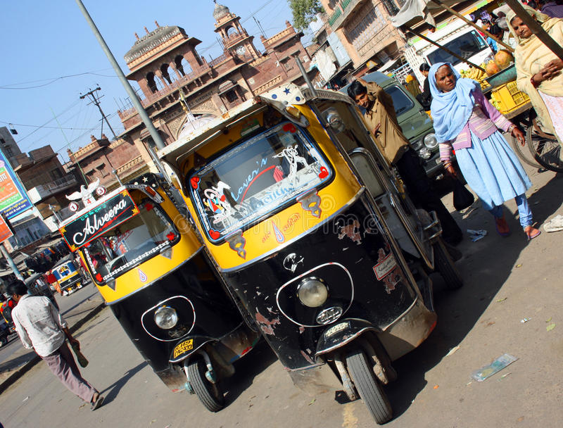 Download Indian taxi editorial stock image. Image of tuktuk, indian - 22237084