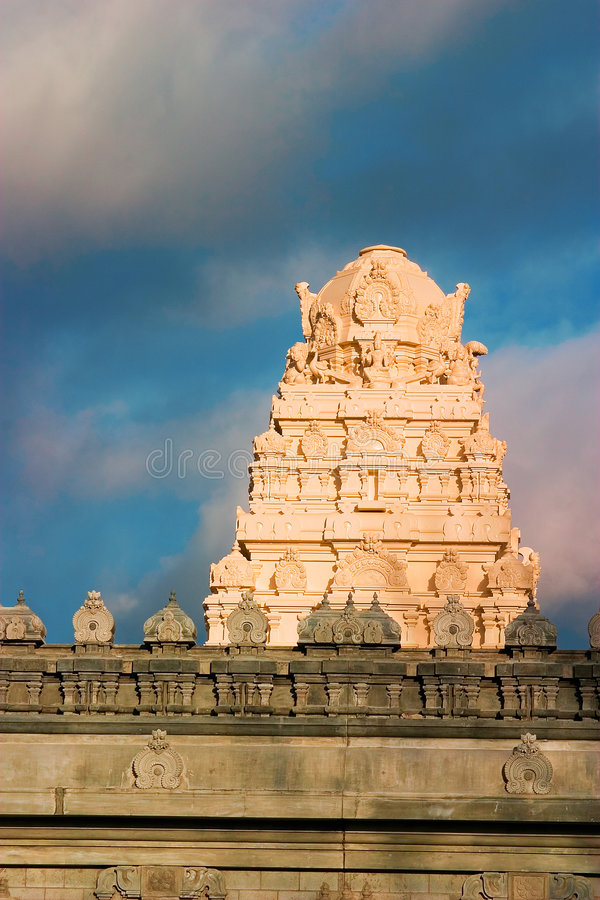 Indian temple royalty free stock photo