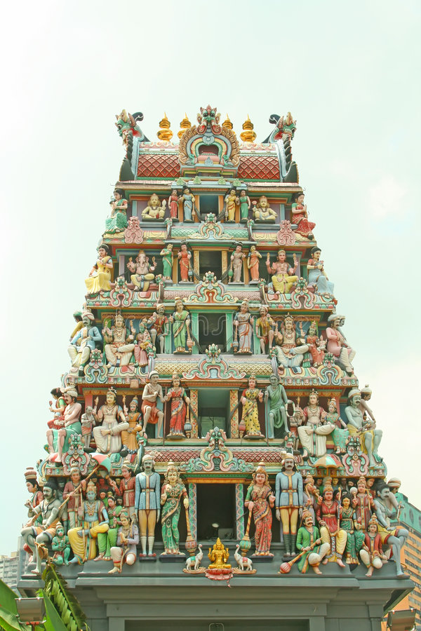 Download Indian Temple Entrance With Hindu Gods Stock Photo - Image: 4077598