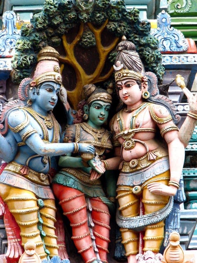 Download Indian Temple Sculpture stock image. Image of durga, meenakshi - 3343179