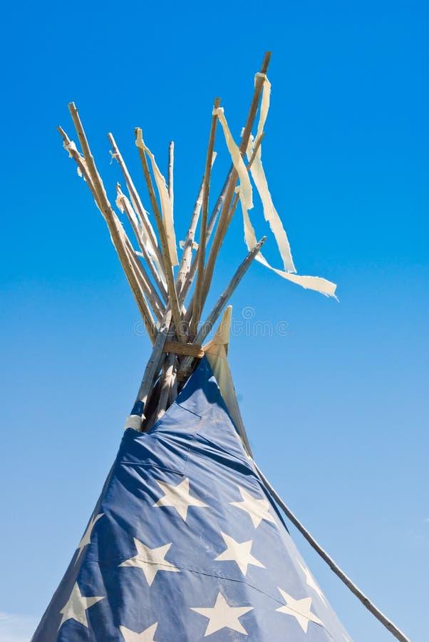 Indian Tepee royalty free stock photos