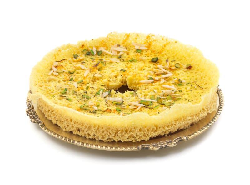 Ghewar Sweet food royalty free stock image