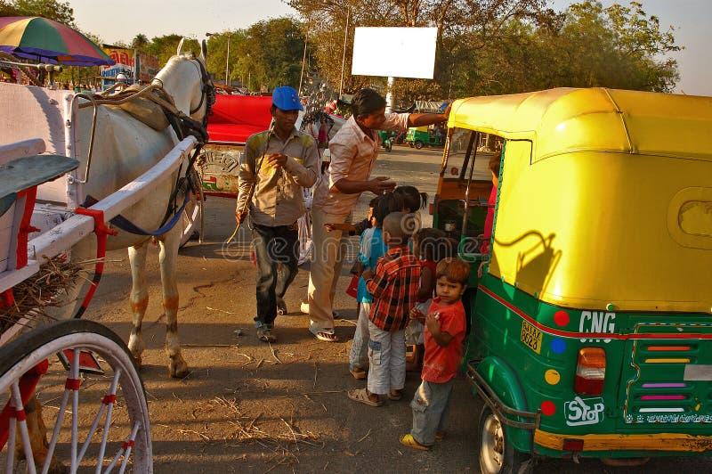 Indian Transportation stock photo