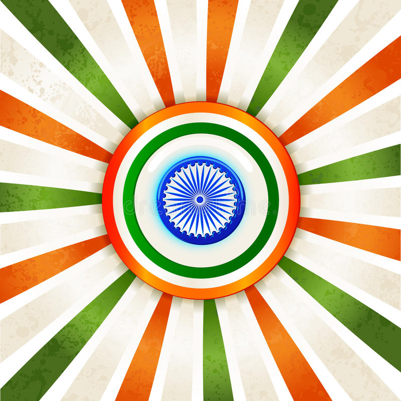 Download Indian Tricolor Background Royalty Free Stock Photos - Image: 28350258