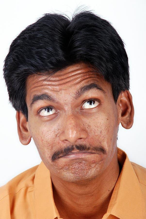 Indian triste imagens de stock
