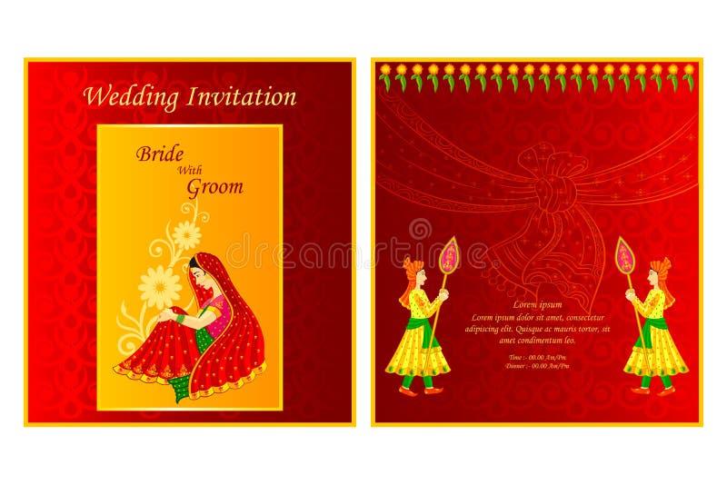 Indian wedding invitation card stock vector illustration of download indian wedding invitation card stock vector illustration of festive editable 48581901 stopboris Gallery