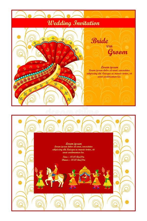 Indian wedding invitation card stock vector illustration of card download indian wedding invitation card stock vector illustration of card celebration 48581974 stopboris Images