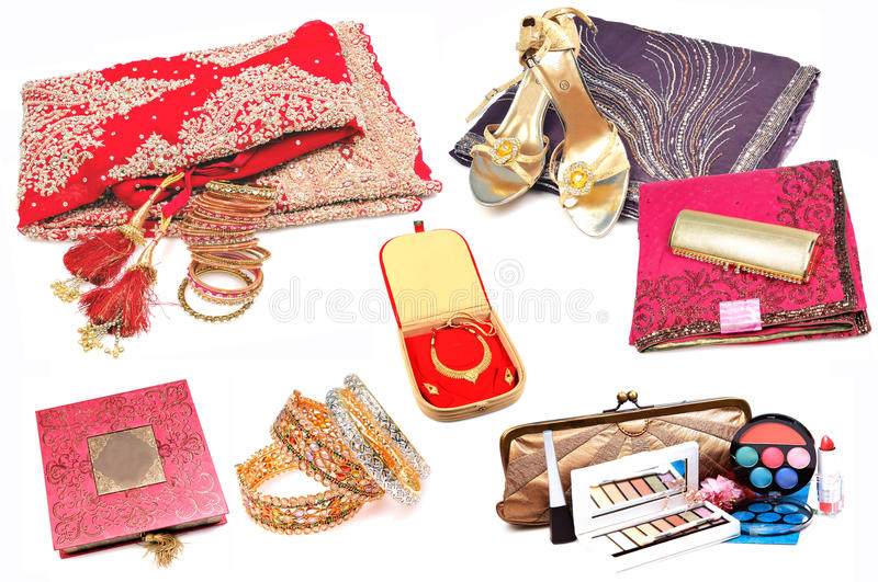 Traditional Indian Wedding Gifts: Indian Wedding Items Stock Image