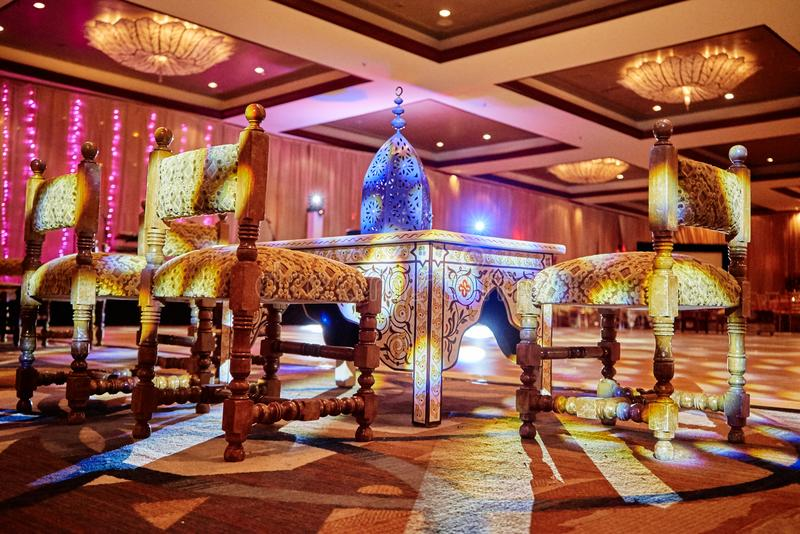 Mehndi Night : Miami usa may 27 2015: indian wedding mehndi henna night