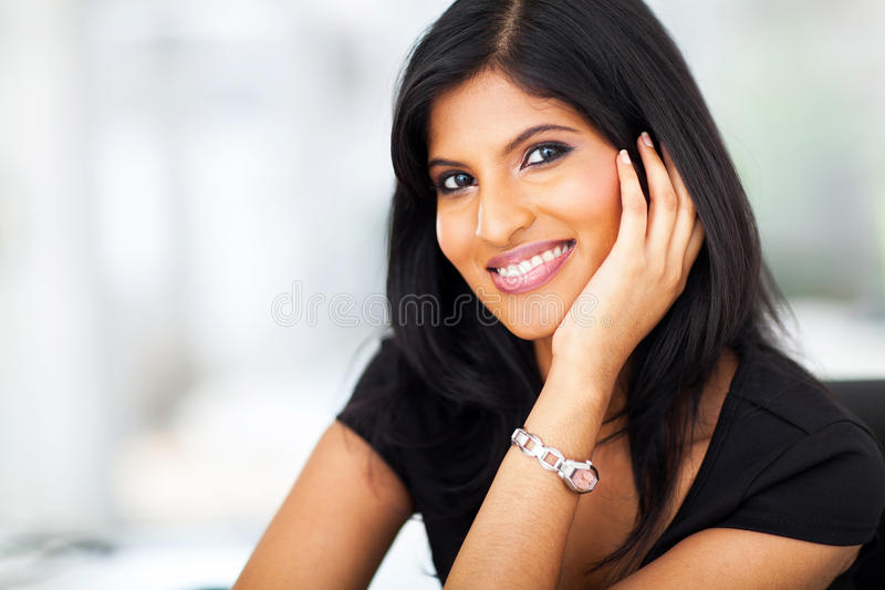 Indian white collar stock images