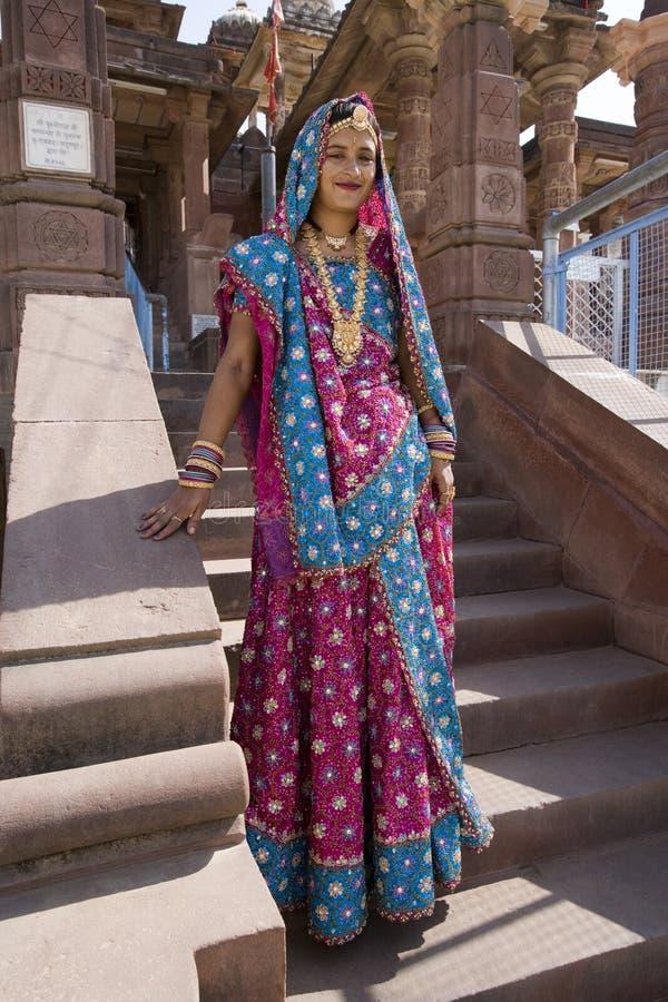 Indian woman - Rajasthan - India royalty free stock photo