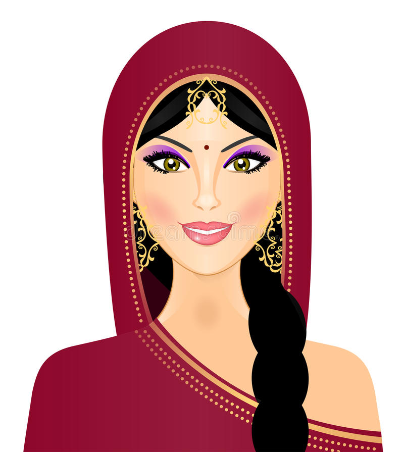 Download Indian Woman Smiling Royalty Free Stock Photos - Image: 25913538