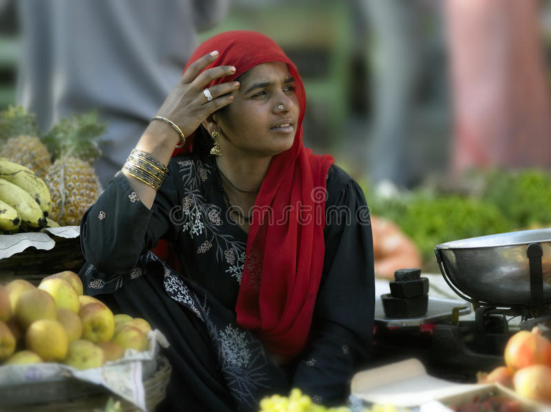 Indian woman - Udaipur - India