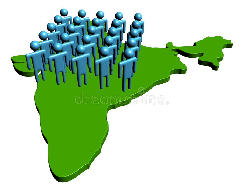 Download Indian Workforce Illustration Stock Images - Image: 11660654