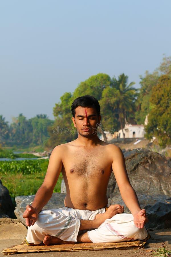 Indian Yogi stock photo