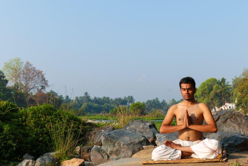 Indian Yogi stock photography