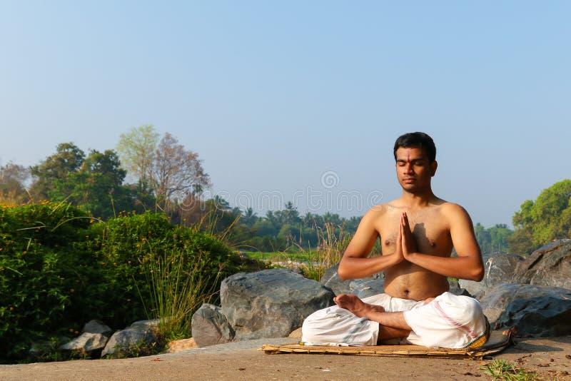 Indian Yogi stock images
