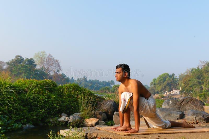 Indian Yogi royalty free stock photo