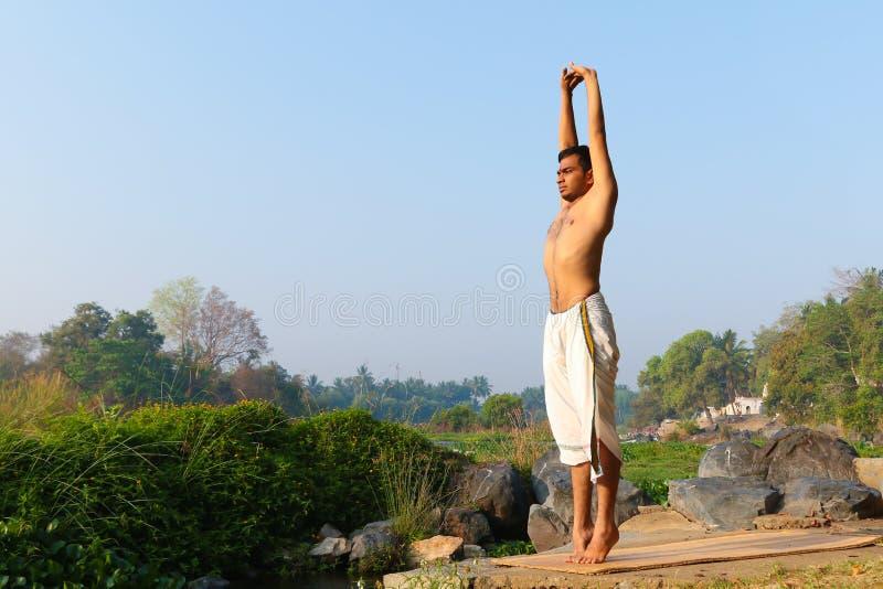 Indian Yogi royalty free stock photos