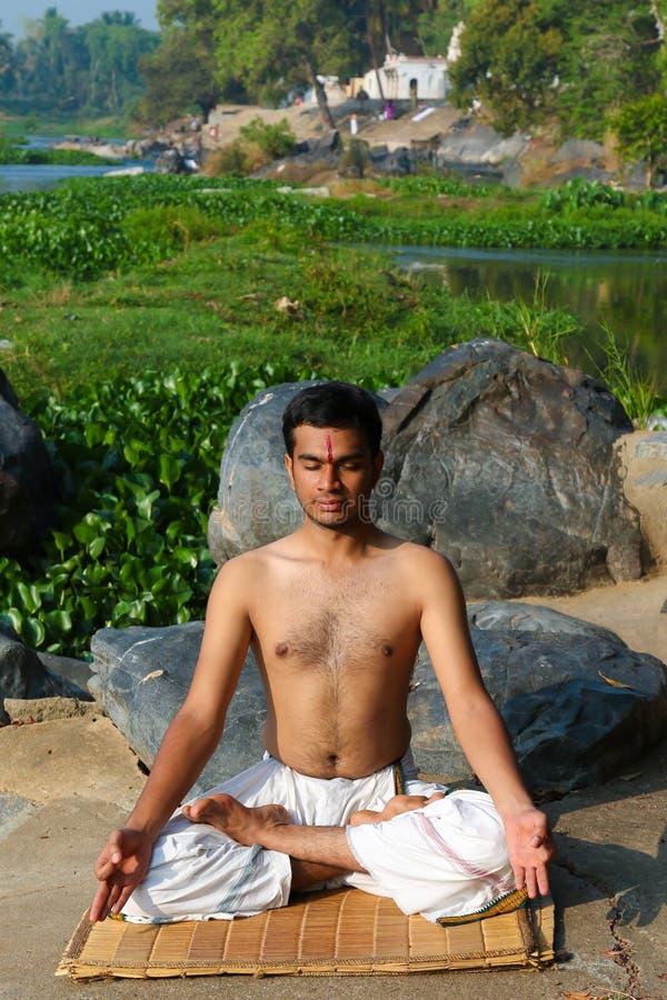 Indian Yogi stock photos