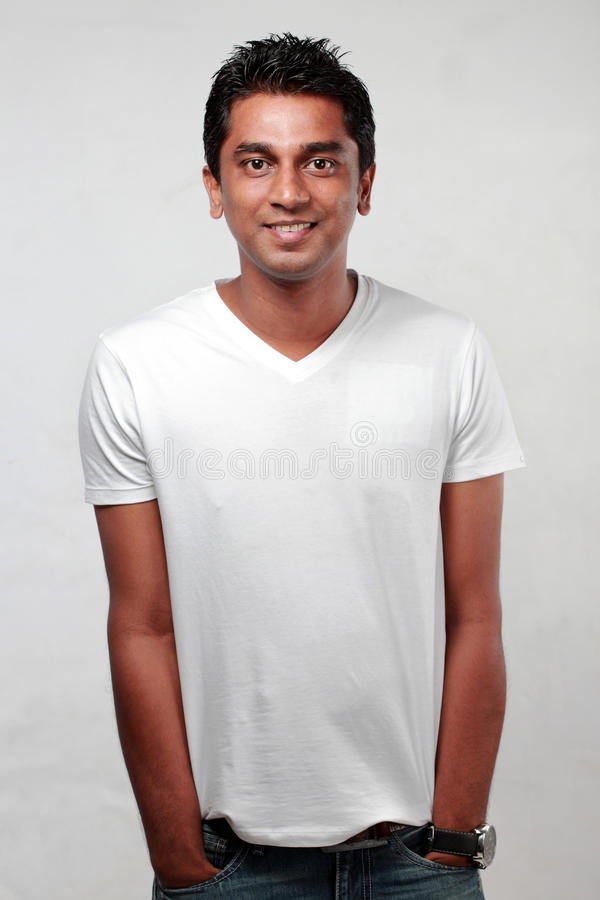 Indian young man royalty free stock images