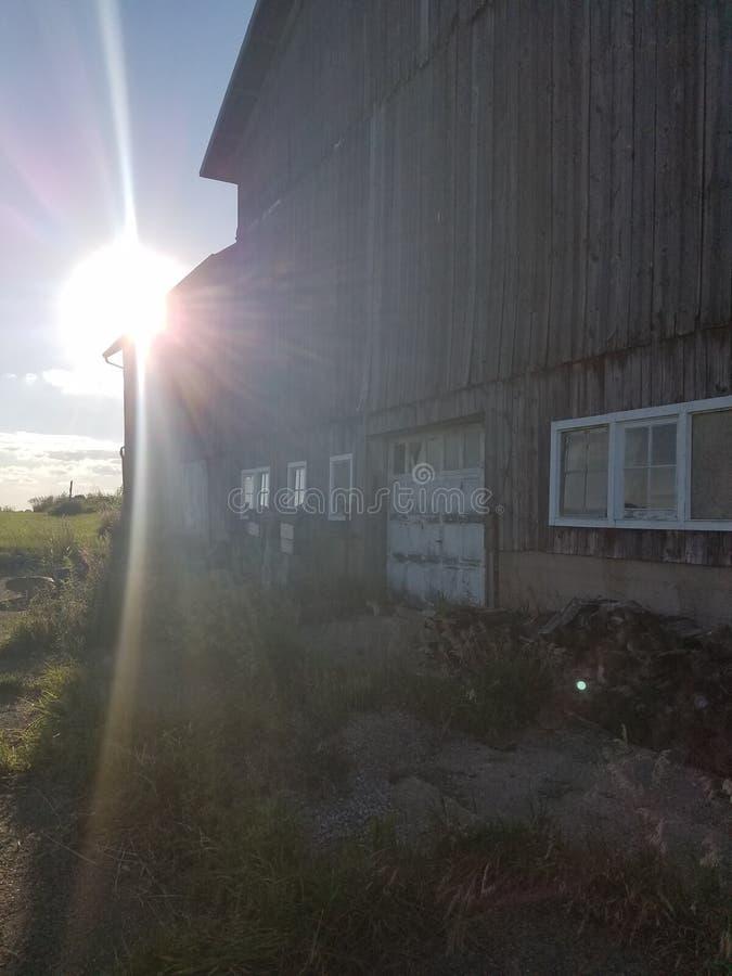 Indiana-Bauernhofleben lizenzfreies stockbild