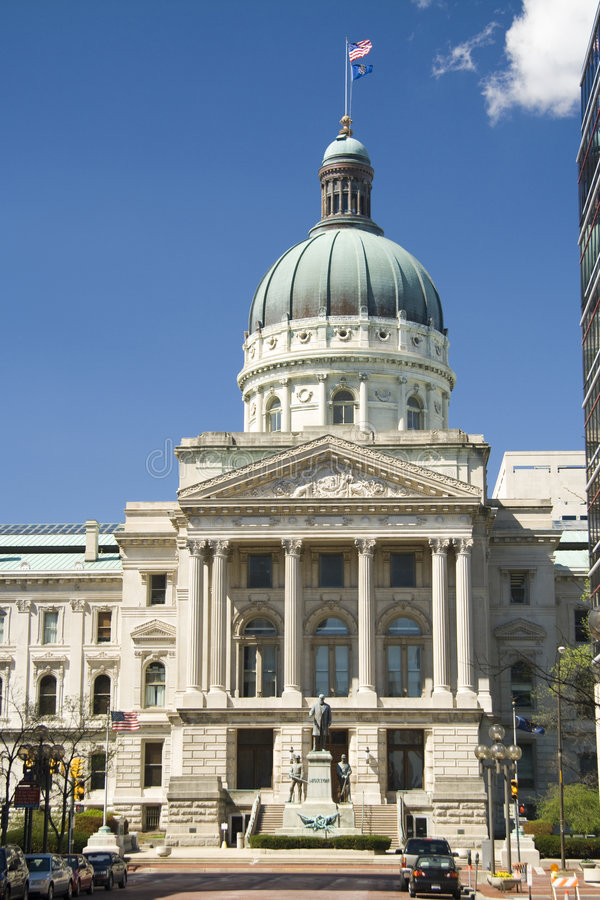 Download Indiana Capitol Building stock photo. Image of monument - 2199798