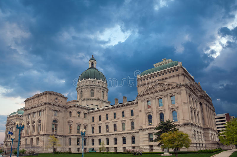 Indiana Capitol Building. Image of the Indiana Capitol Building stock photo